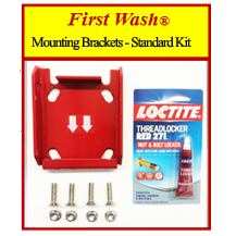 First Wash ® Mounting Brackets Standard Kit